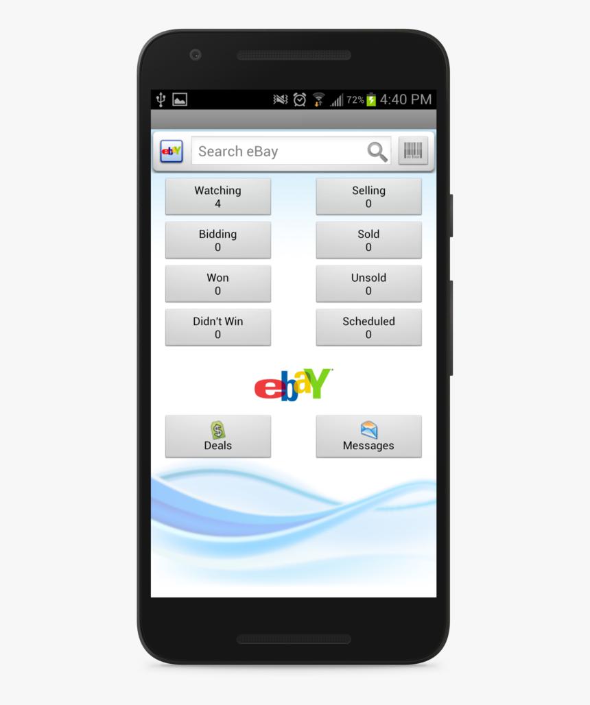 Ebay Andro 1 3 Sign Out On Ebay App Hd Png Download Transparent Png Image Pngitem