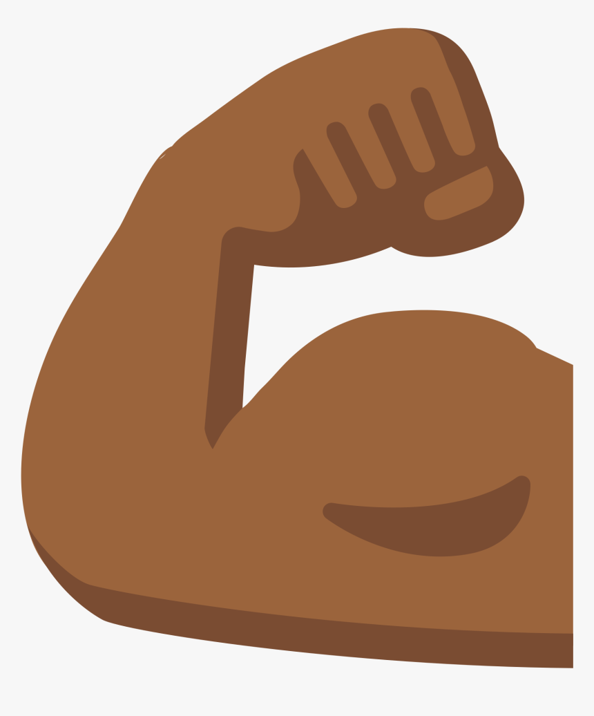 Arm Emoji Biceps Human Skin Color Muscle Muscle Arm Emoji Hd Png Download Transparent Png Image Pngitem
