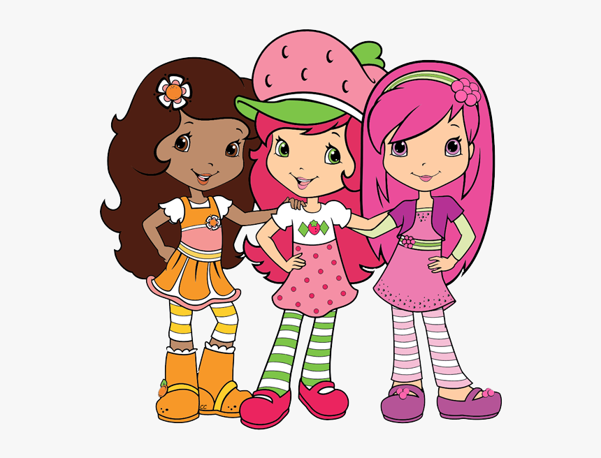 Orange Blossom Strawberry Shortcake Characters Hd Png Download
