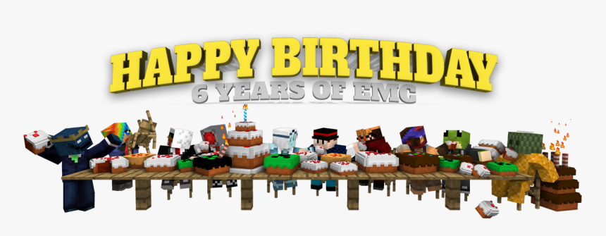 Transparent Minecraft Cake Png Happy Birthday To Event Manager