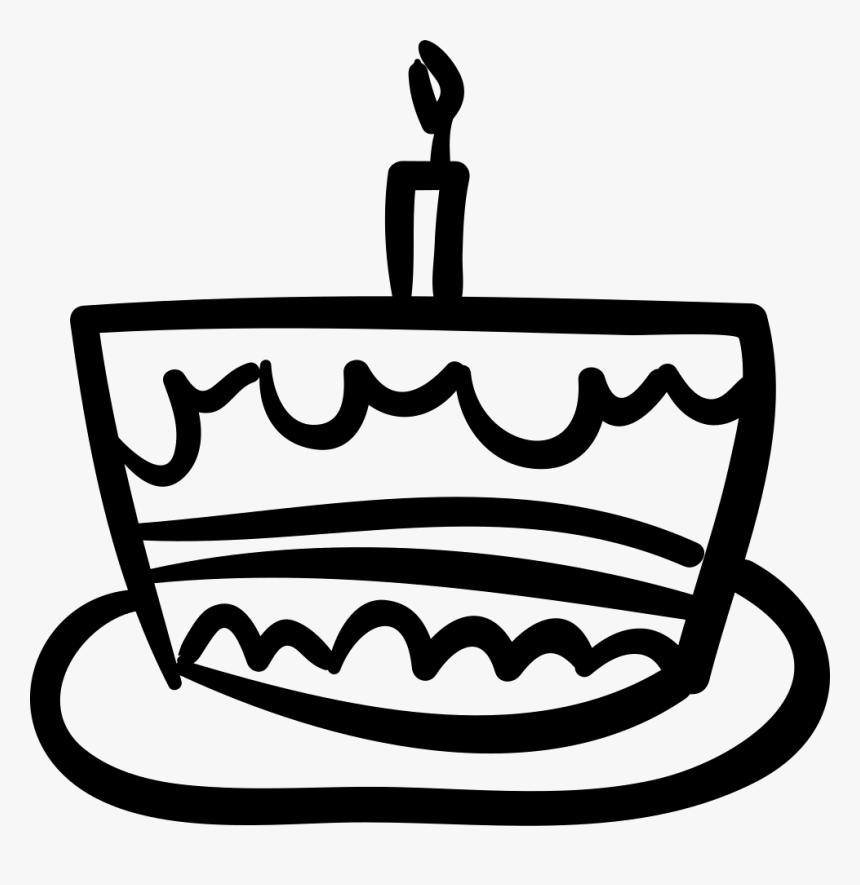 Fantastic Transparent Birthday Cake Icon Png Birthday Cake Hand Drawing Personalised Birthday Cards Veneteletsinfo