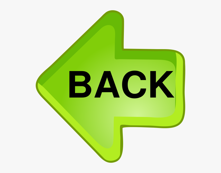Transparent Back Button Clipart - Arrow Clip Art, HD Png ...