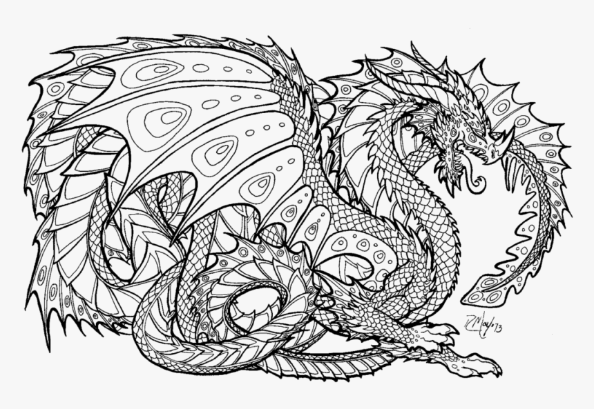 - Free Printable Coloring Pages - Detailed Coloring Pages, HD Png Download ,  Transparent Png Image - PNGitem
