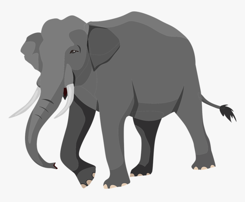 Elephant Png Silhouette : Elephant silhouette , animal silhouettes transparent background png clipart.