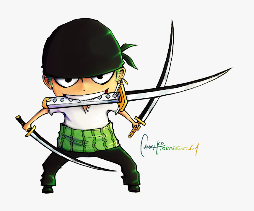 One Piece Zoro Png Download Zoro One Piece Drawing Chibi Transparent Png Transparent Png Image Pngitem