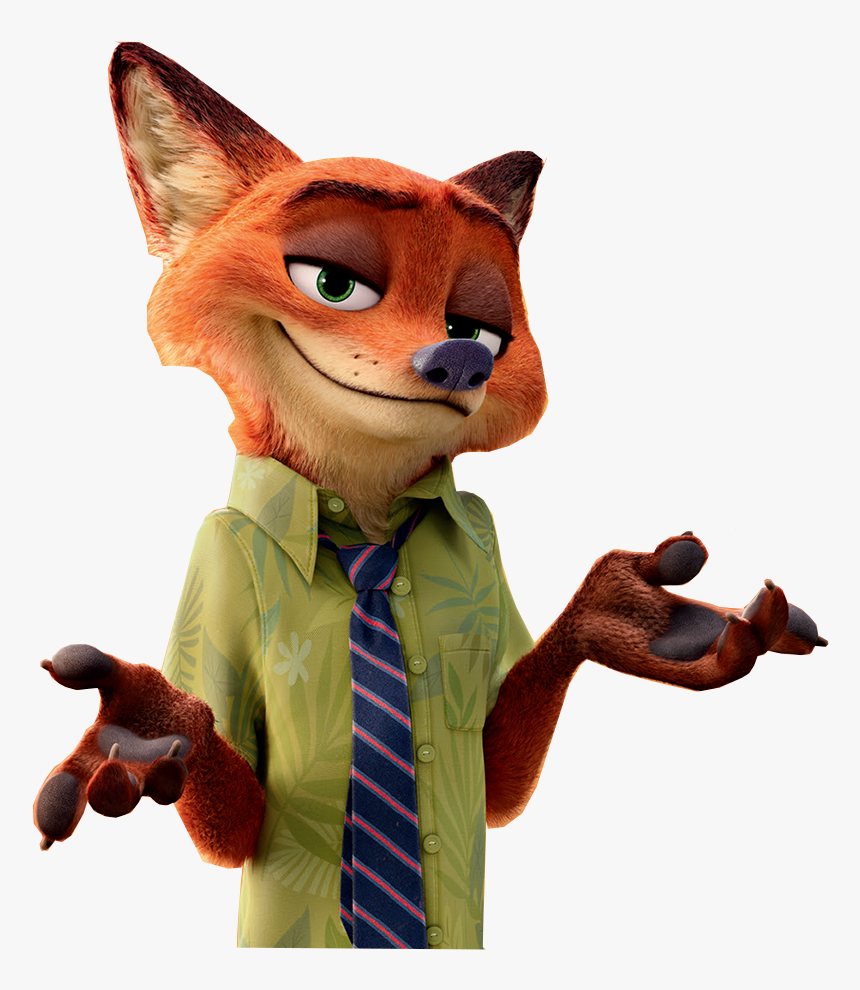 Nick Wilde Transparent, HD Png Download