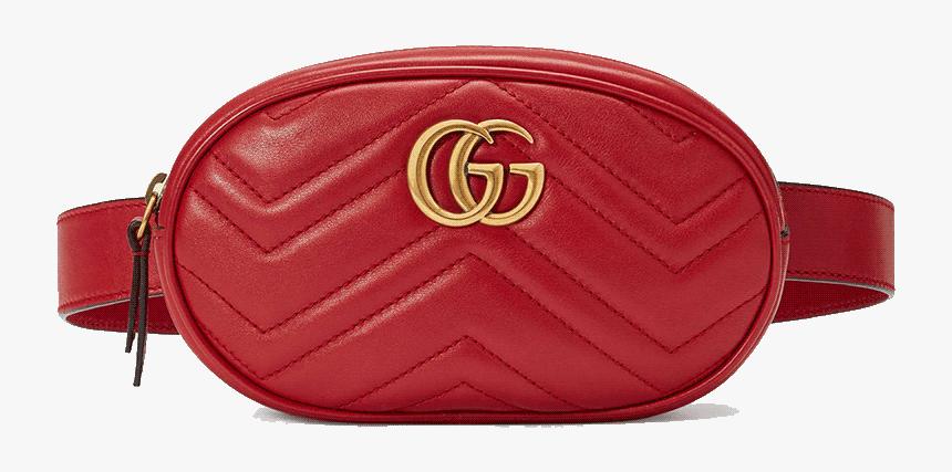 Gucci Belt Bag Red, HD Png Download , Transparent Png Image