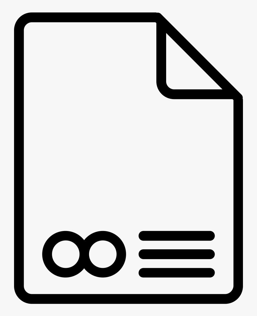 Document Icon Icon Google Slides Black Png Transparent Png