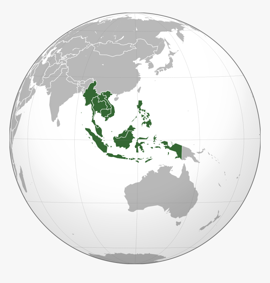 Japanese Invade Southeast Asia Png - South East Asia On ... on map of world globe, map of north america globe, map of new zealand globe, map of middle east globe,
