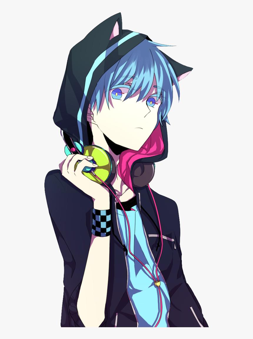 Neon Boy Neon Boy Minecraft Skin Png Anime Cat Boy - Animes Com