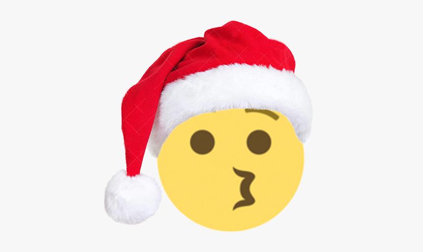 Christmas Emojis Png - Santa Claus