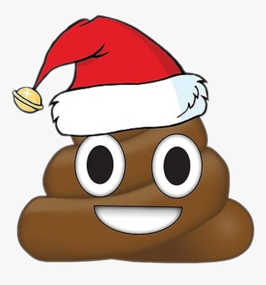 Merry Christmas Poop Emoji , Png