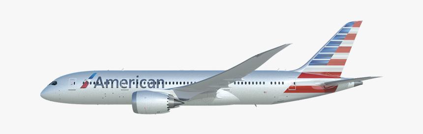 Transparent Images Dreamliner American Airlines Plane No