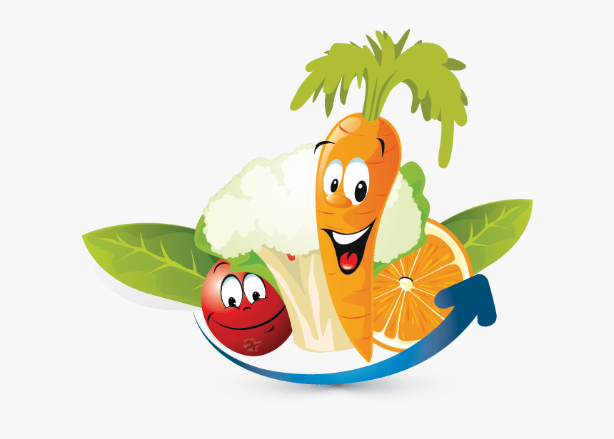 Transparent Vegetables Clipart Png Fruits And Vegetables Cartoon Png Png Download Transparent Png Image Pngitem