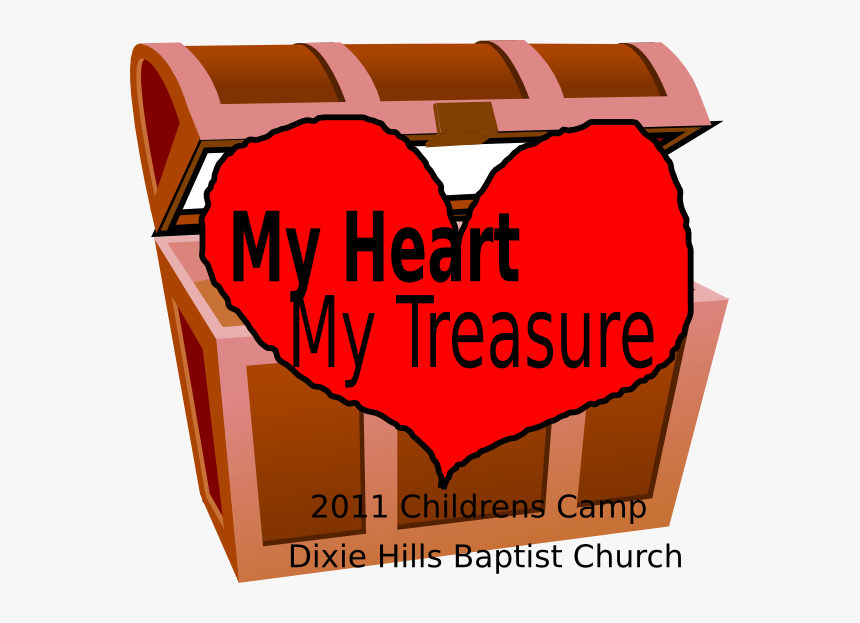 My Heart My Treasure Svg Clip Arts Treasure Chest Clip Art Hd Png Download Transparent Png Image Pngitem
