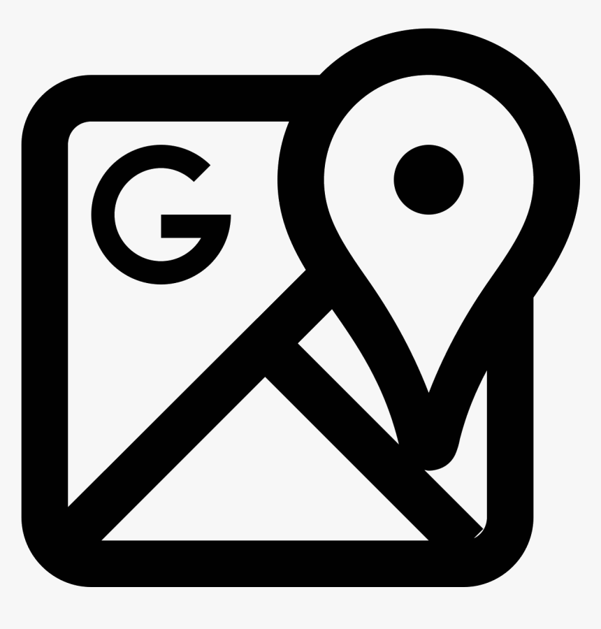 Maps Free Download And White Google Map Icon Hd Png Download