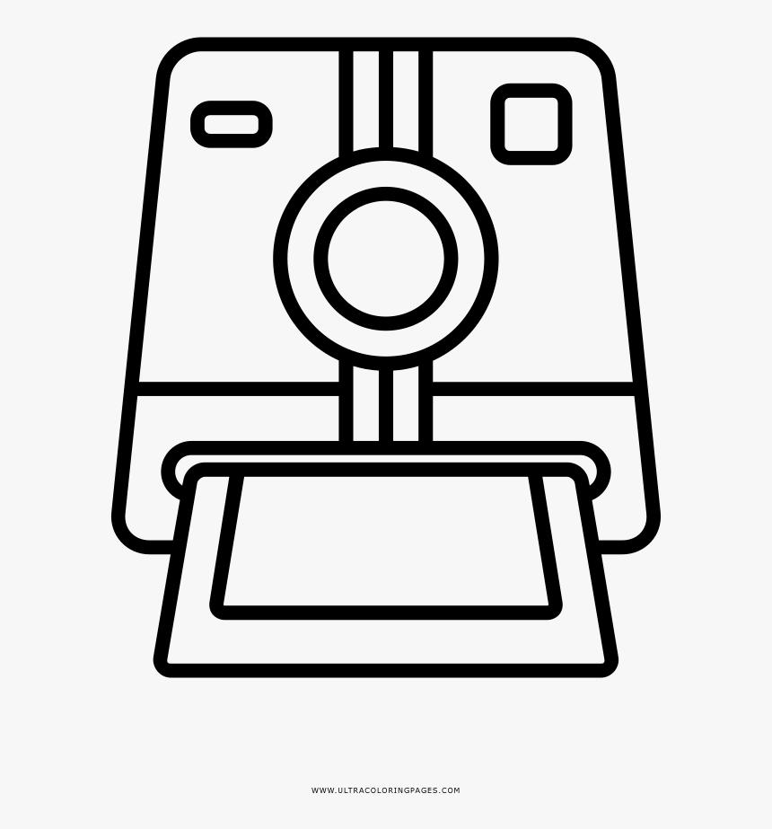 Polaroid Camera Coloring Page Hd Png Download Transparent Png Image Pngitem