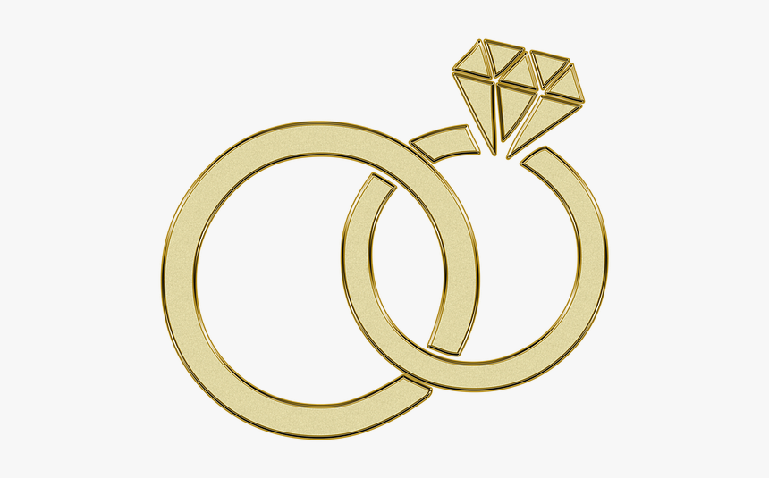 Oro Anillo Compromiso Boda Engagement Anillos Gold Wedding Rings Clipart Hd Png Download Transparent Png Image Pngitem