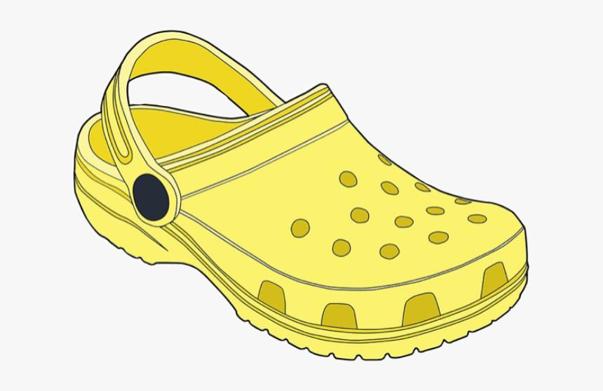Yellow Crocs Yellowaesthetic Aesthetic Vsco Freetoedit Vsco Stickers Yellow Crocs Hd Png Download Transparent Png Image Pngitem