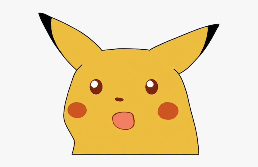 Surprised Pikachu Meme Hd Png Download Transparent Png Image