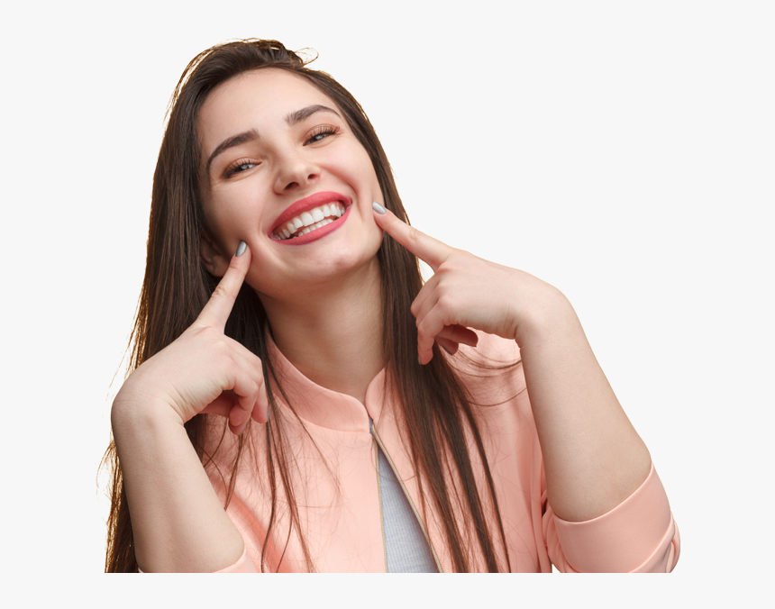 Dentistry From The Heart Beautiful Smile Girl With Teeth Hd Png Download Transparent Png Image Pngitem