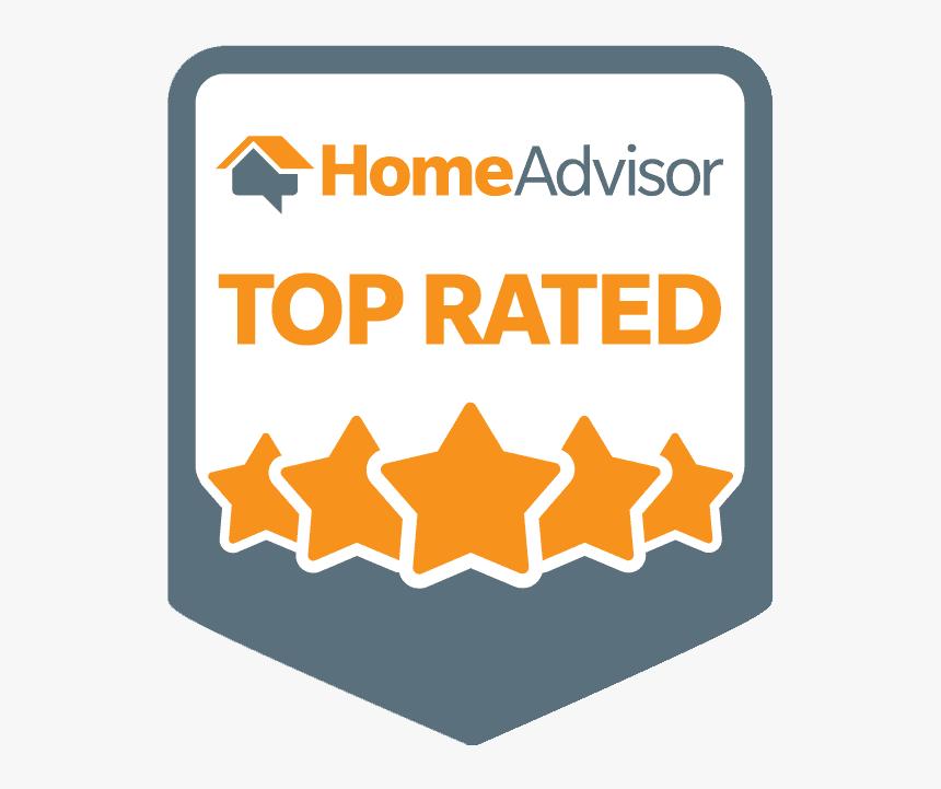 Homeadvisor Top Rated Badge Home Advisor Top Rated Logo Hd Png Download Transparent Png Image Pngitem