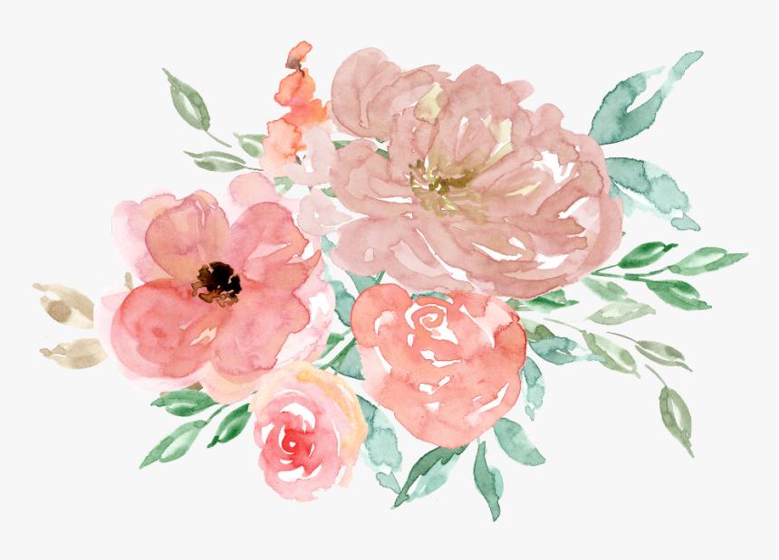 Transparent Watercolour Flower Clipart Free Floral Watercolor Clip Art Hd Png Download Transparent Png Image Pngitem