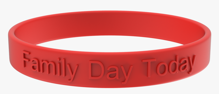 Embossed Custom Silicone Wristbands