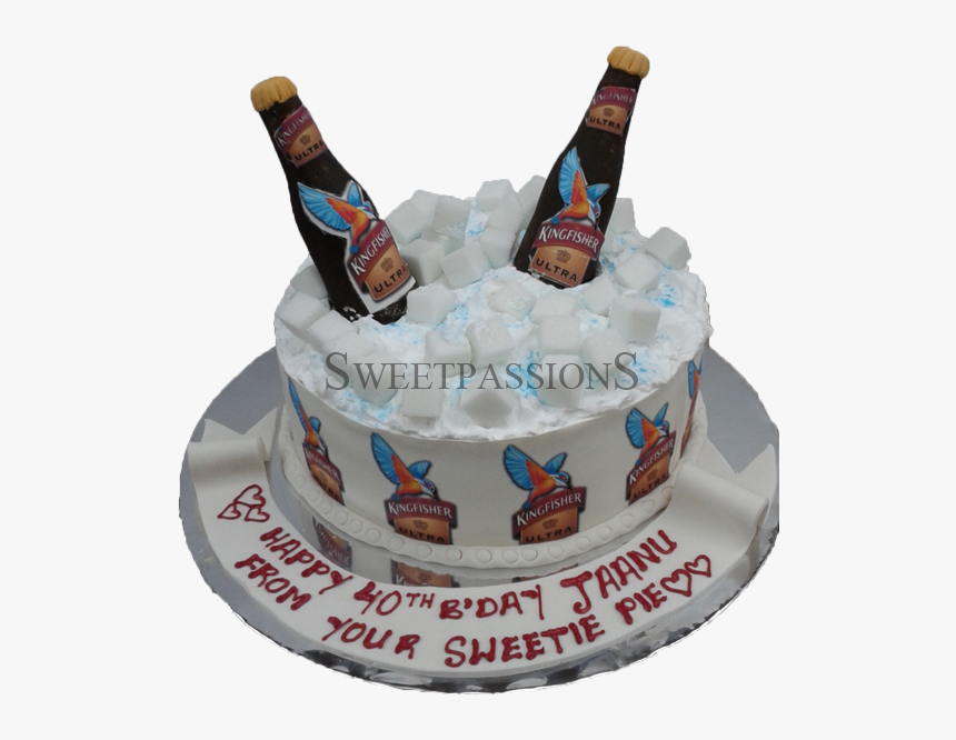 Pleasant Kingfisher Ultra Bottles Cake Kingfisher Beer Birthday Cake Hd Personalised Birthday Cards Paralily Jamesorg