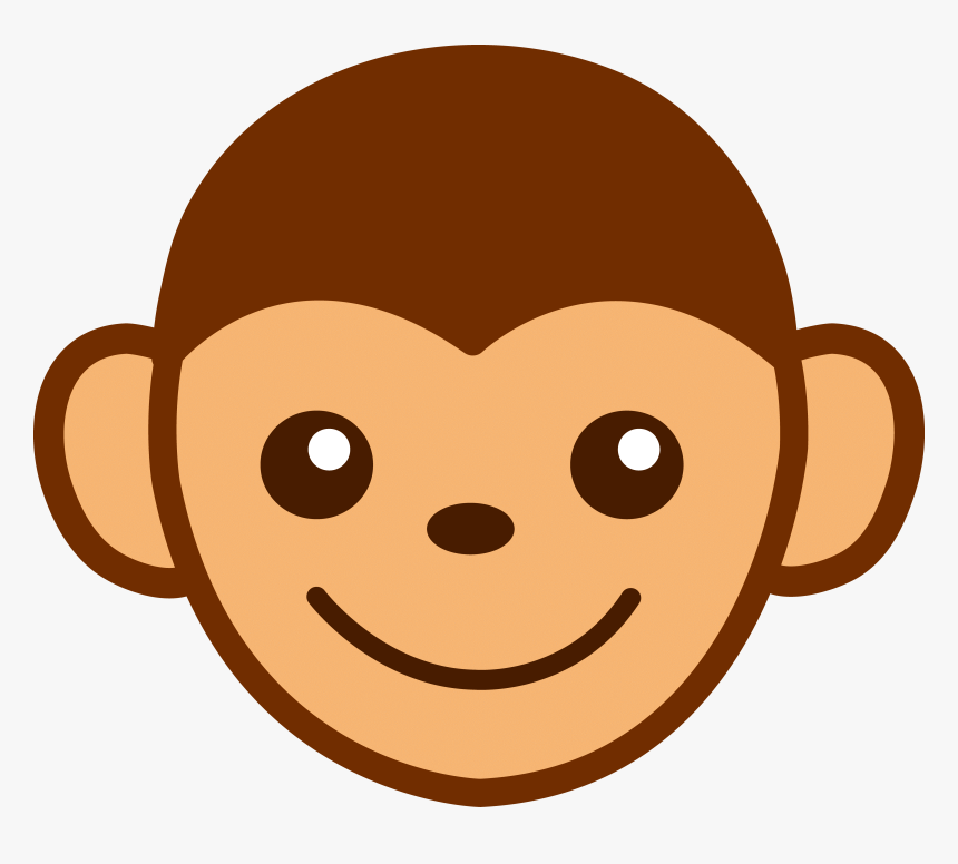 Cartoon Picture Of A Monkey Monkey Clipart Face Hd Png Download Transparent Png Image Pngitem