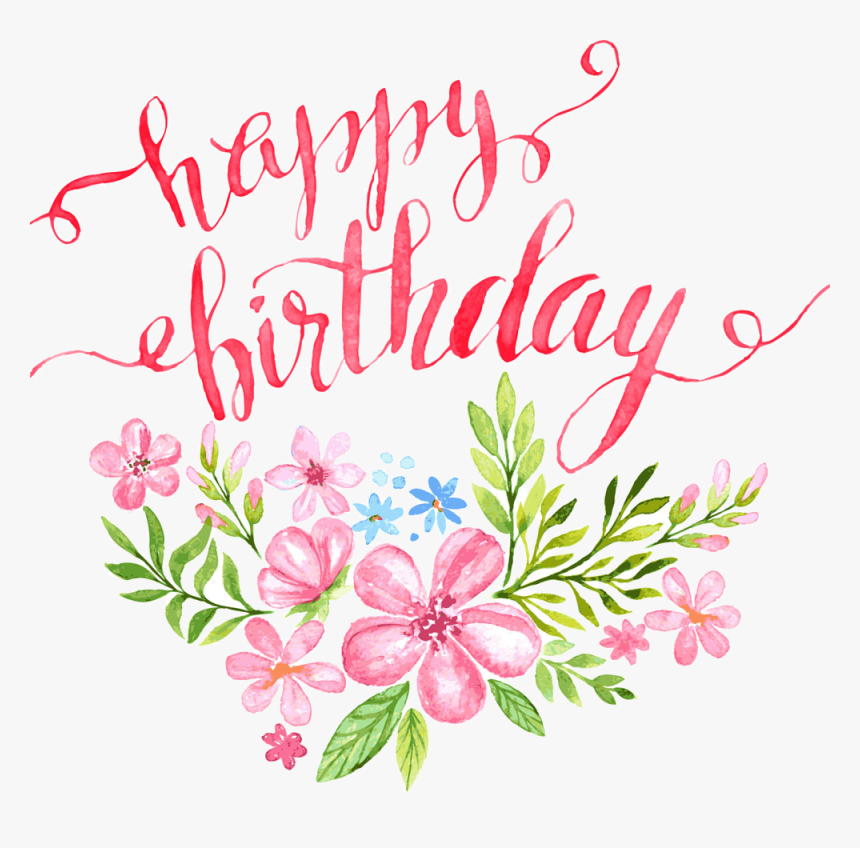 Happy Birthday Clipart Flower Pin Happy Birthday Flowers Hd Png Download Transparent Png Image Pngitem