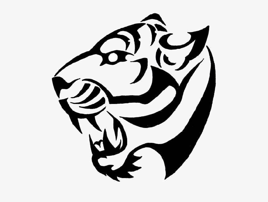 Tribal Tattoos High Quality Png Simple Tiger Tattoo Design