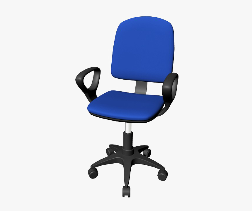 Office Chair Blue Png Background
