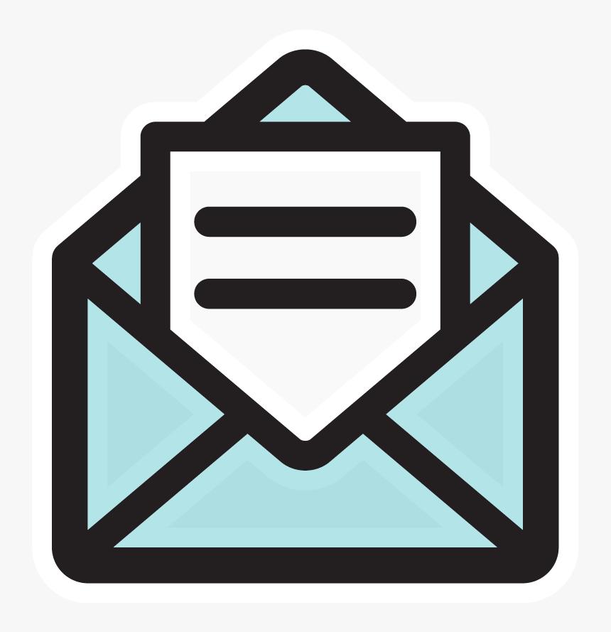 Transparent Email Clipart - Email Icon Transparent Background, HD Png  Download , Transparent Png Image - PNGitem
