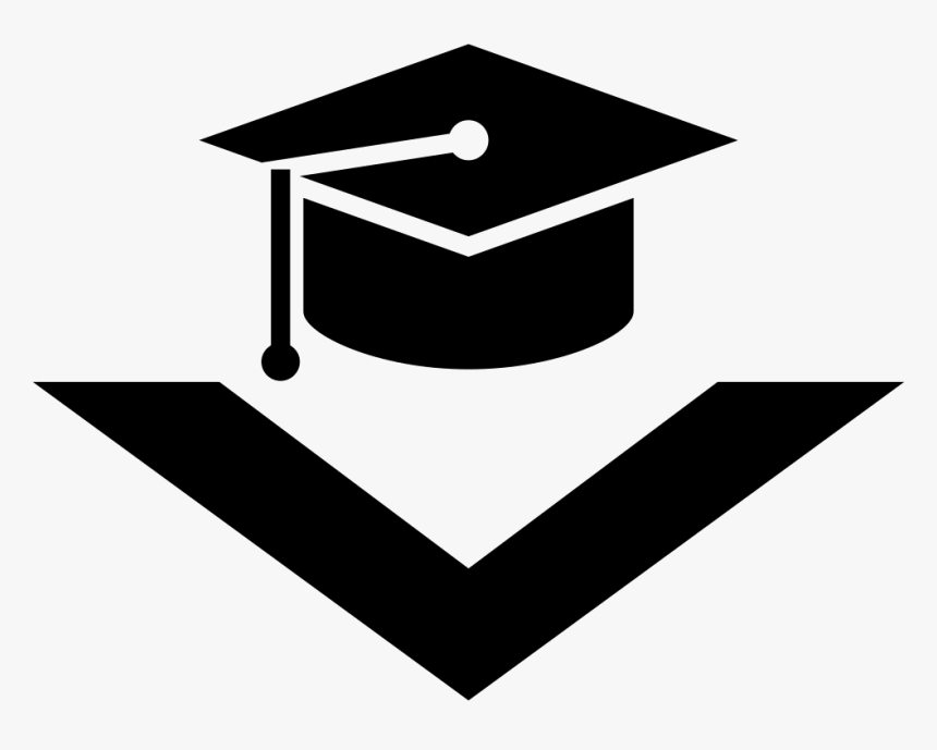 graduation cap with down arrow comments toga icon png transparent png transparent png image pngitem graduation cap with down arrow comments