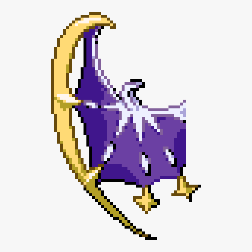 Lunala Not Completed Tggw Pixel Art Pokemon Lunala Hd Png