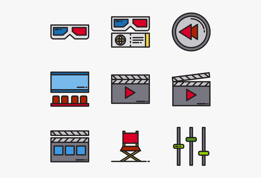 Movie Film Movie Vector Icons Cinema Icon Png Transparent Png Transparent Png Image Pngitem