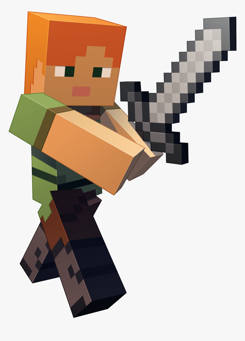 Steve Alex Minecraft Characters Hd Png Download Transparent Png Image Pngitem