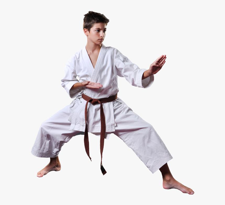 Teen Boy In Karate Stance Martial Arts Stance Hd Png Download Transparent Png Image Pngitem