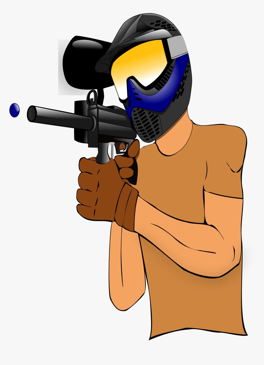 Paintball Guns Game Clip Art Paintball Gun Pictures Cartoon Hd Png Download Transparent Png Image Pngitem