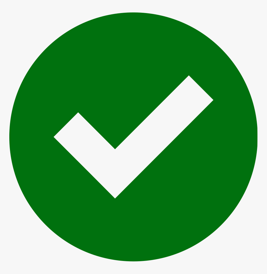 Check Mark Icon Png , Png Download - Circle Email Logo Png ...