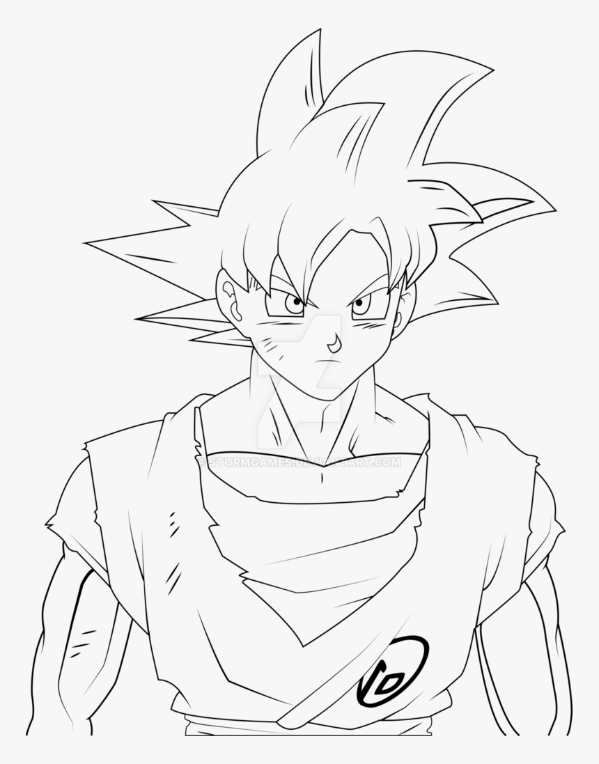Goku Super Saiyan God Drawing Easy Hd Png Download