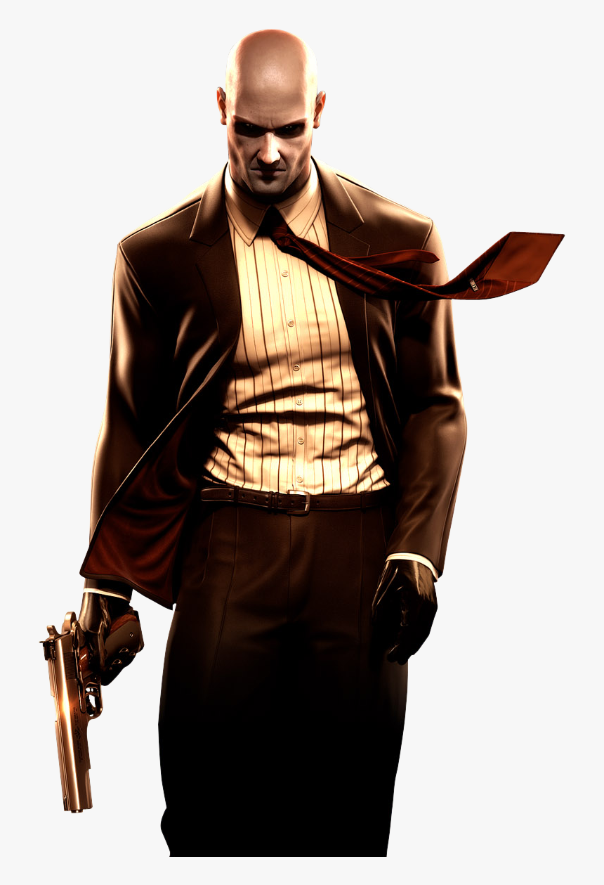 Agent 47 Png Hitman Hd Wallpaper For Mobile Transparent Png