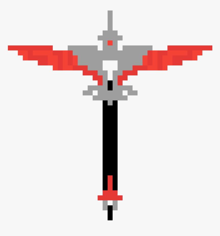Fortnite Pickaxe Pixel Art Hd Png Download Transparent
