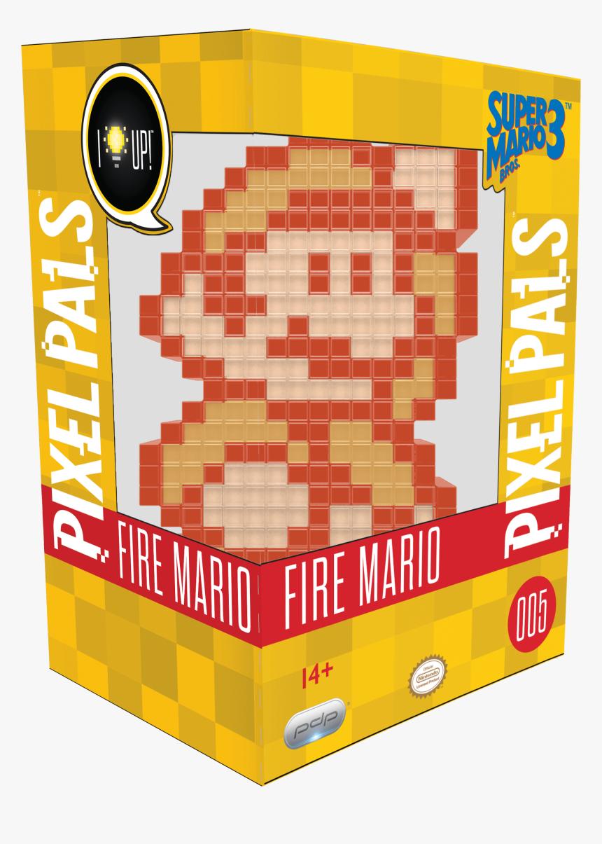 Fire Mario Pixel Pals Luigi Super Mario Bros 3 Hd Png Download