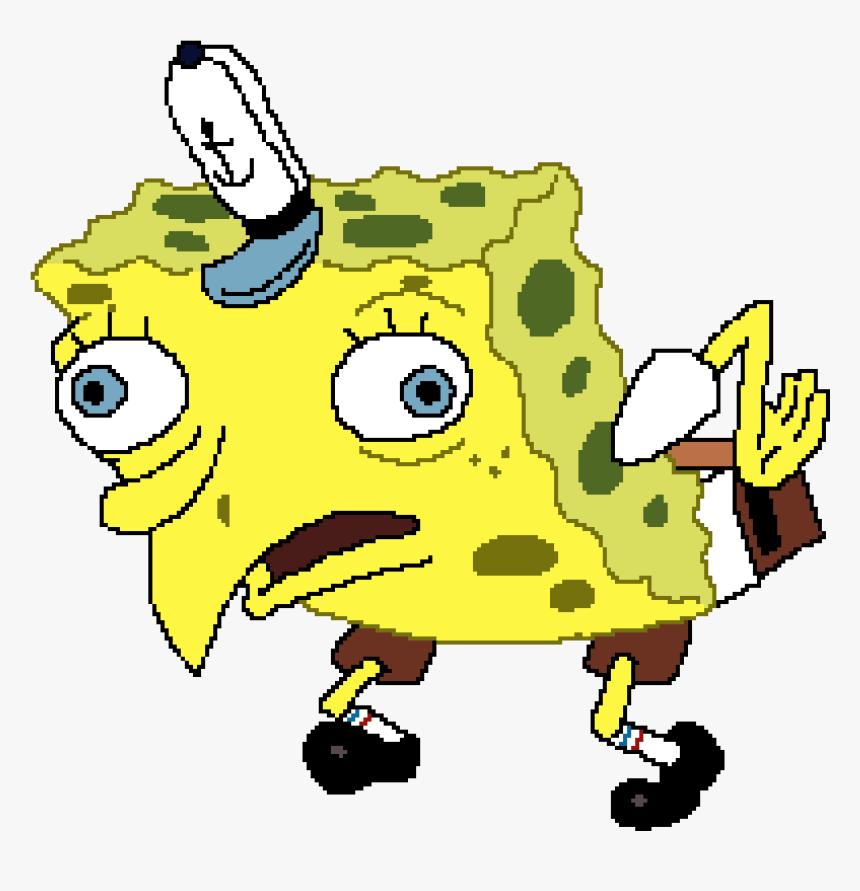 Mocking Spongebob Sticker Hd Png Download Transparent Png