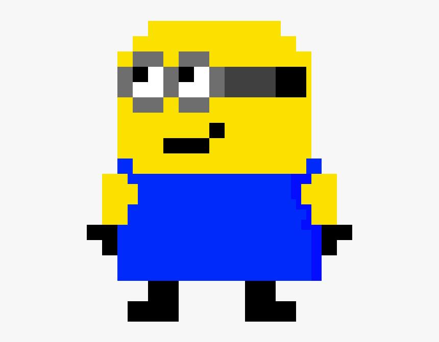 Pixel Art Minecraft Grid Transparent Cartoons Minion