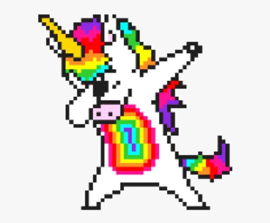 Confetti Drawing Pixel Art Modele De Pixel Art De Licorne