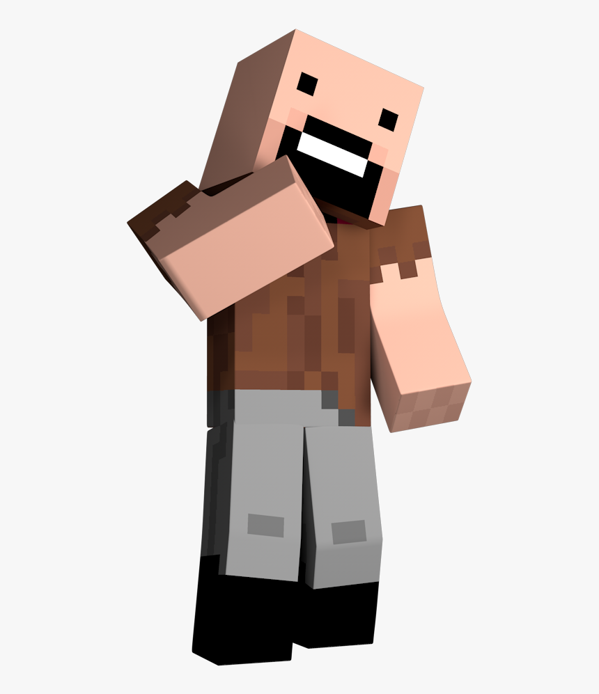 Explodingtnt Wiki - Minecraft Notch No Background, HD Png Download