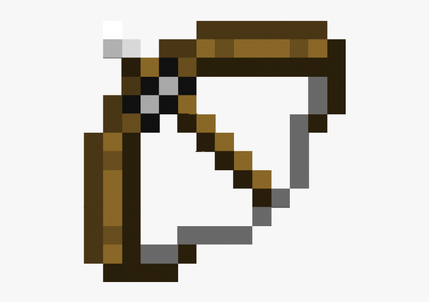 Minecraft Bow Png Minecraft Bow And Arrow Png Transparent Png Transparent Png Image Pngitem